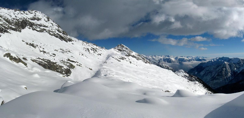 pizzo d'Orsalia, lago Pero e Melo, Bocchetta d'Orsalia