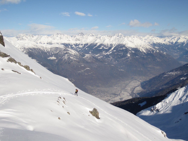 Sospesi sulla Valtellina