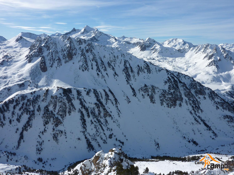 Vallon d'Aygue Cluse et massif du Néouvielle