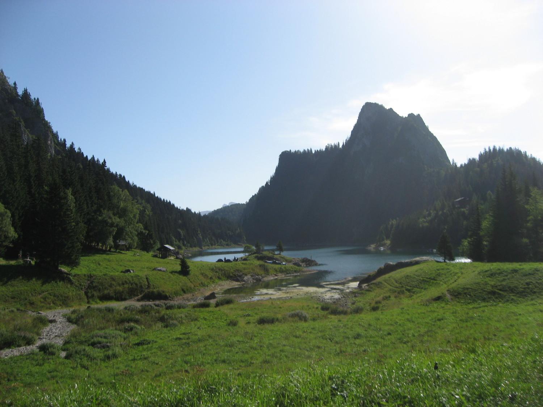 Lac de Taney en été