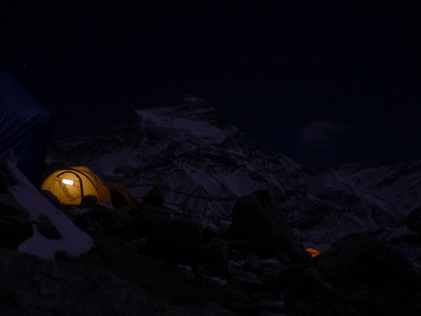 Cho Oyu 8201m (Tibet) - Camp de Base (7500m)