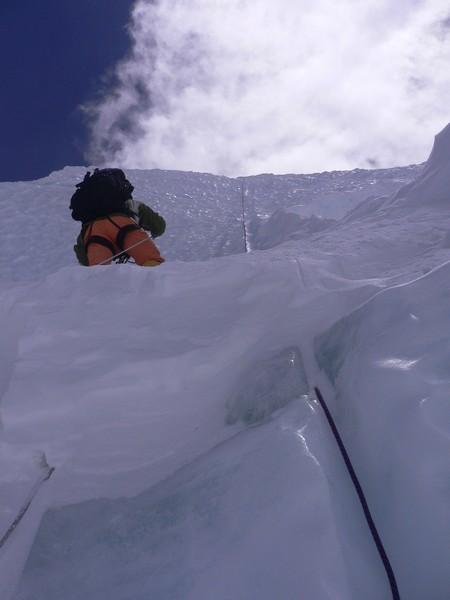Cho Oyu 8201m (Tibet) - passage raid à 6800m