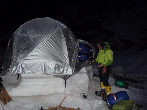 Nanga Parbat (Pakistan): Glacier Diama: 50°C fond le glacier assez vite