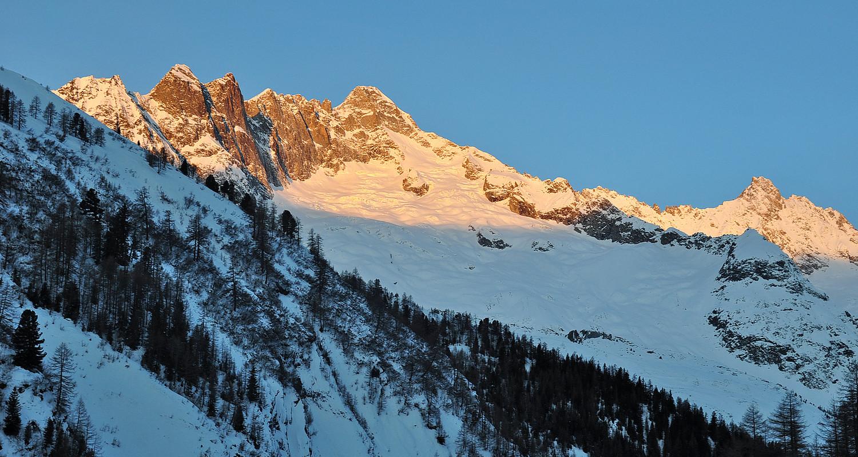 Rayons premiers au Val Ferret
