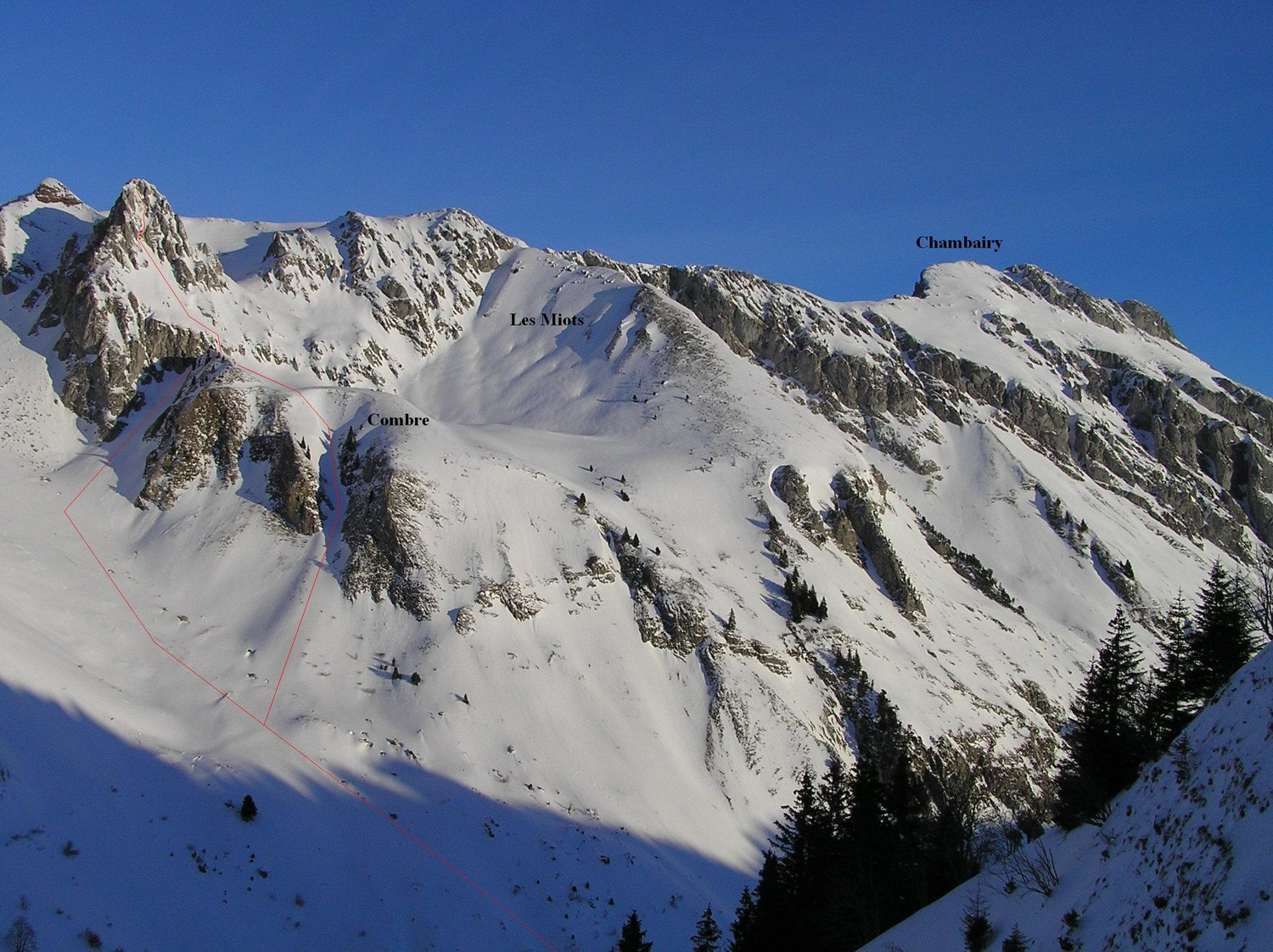 Couloirs Sud