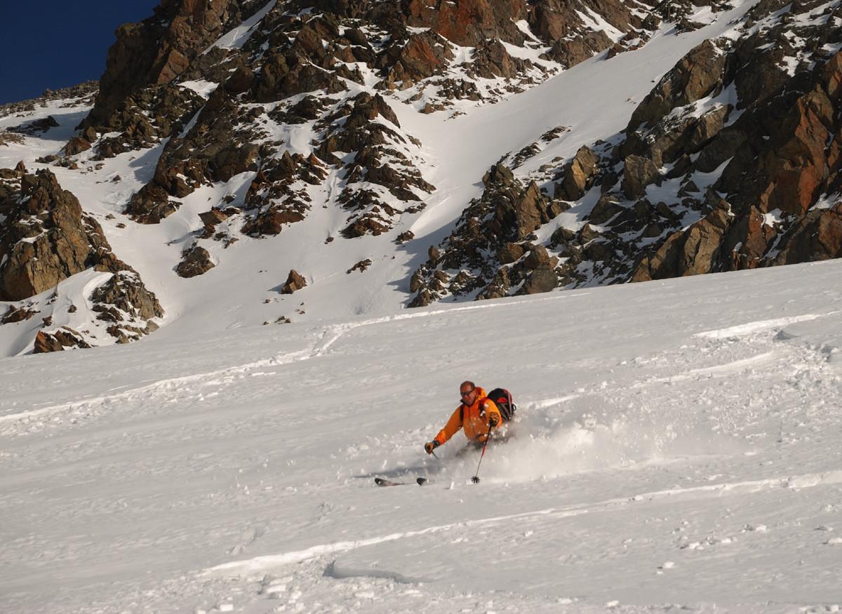 Glacier du Rossfirn à la descente du Zwächten (Uri - Suisse Centrale)