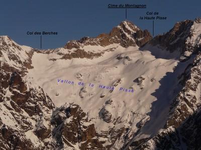 Col de la Haute Pisse - Versant W