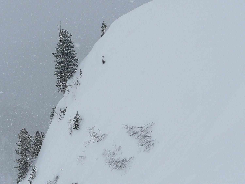 De la neige à la montée