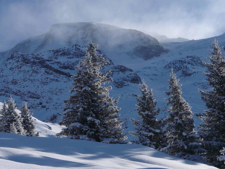 Du vent sur Miage et le glacier d'Armancette