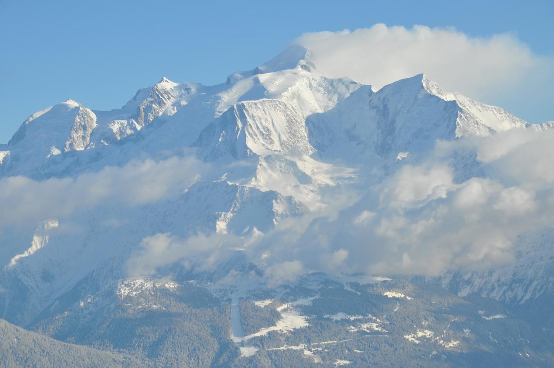 mont blanc du sommet