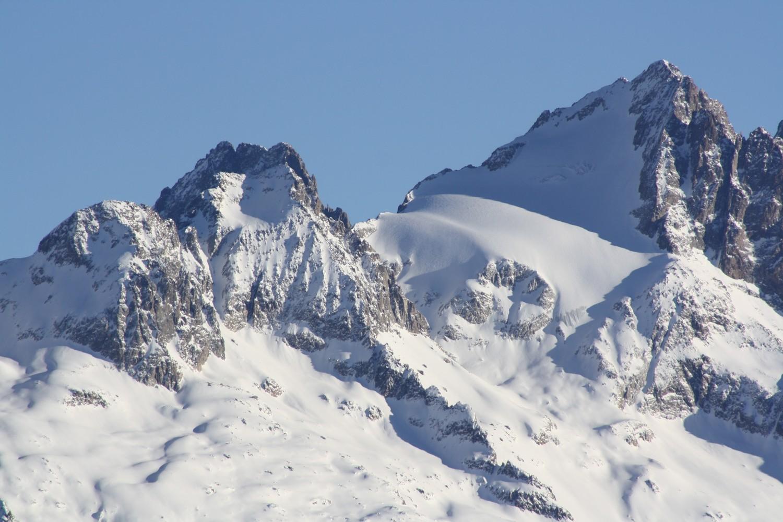 La Tête des Fétoules et le glacier homonyme