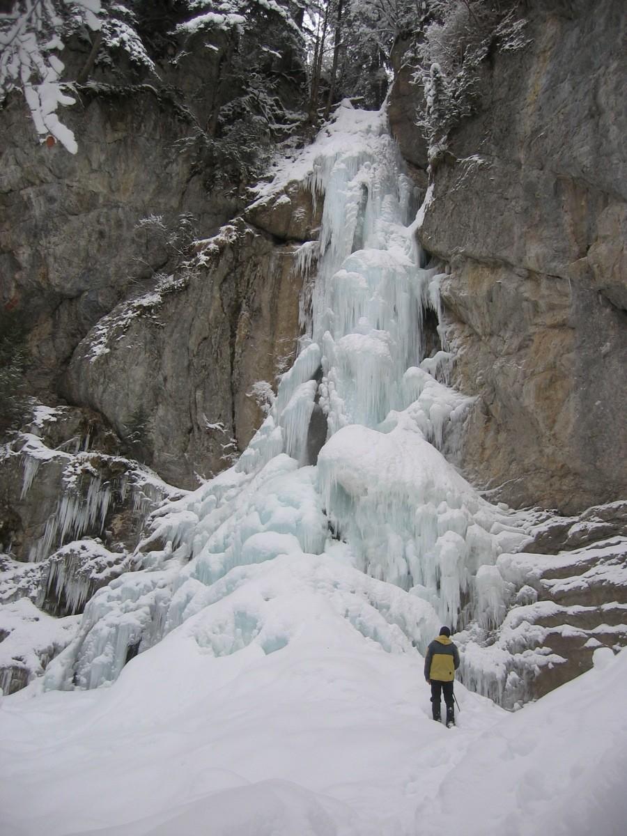 Cascade de droite de Sur Bayard