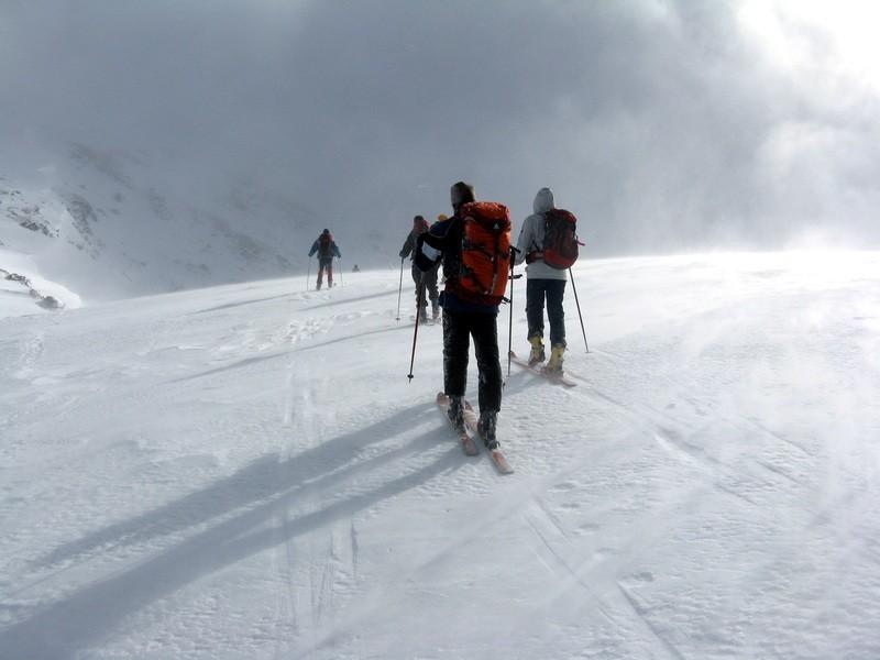 plat avant le sommet