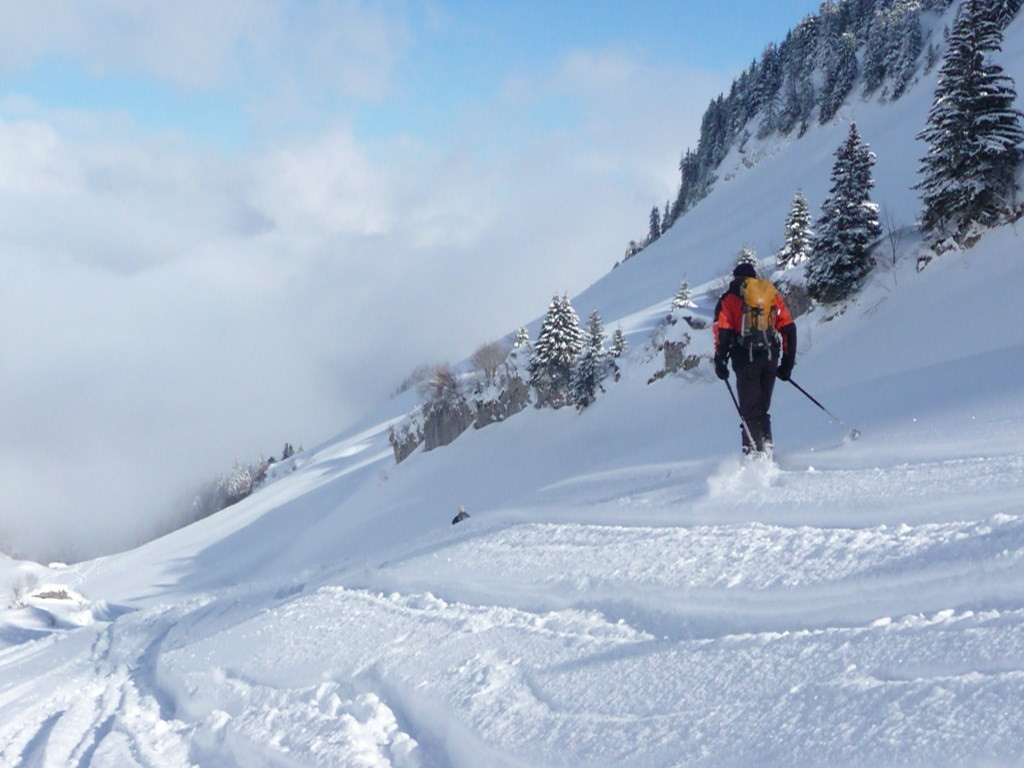 Descente ds le vallon