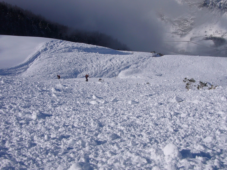 montée sur l'avalanche