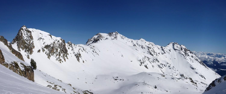 Pic de Cettiou, Pic d'Aulon et Pic Mail