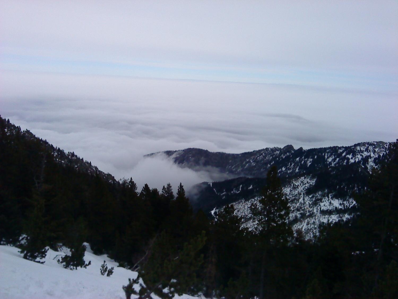 La mer (de nuages) qui monte