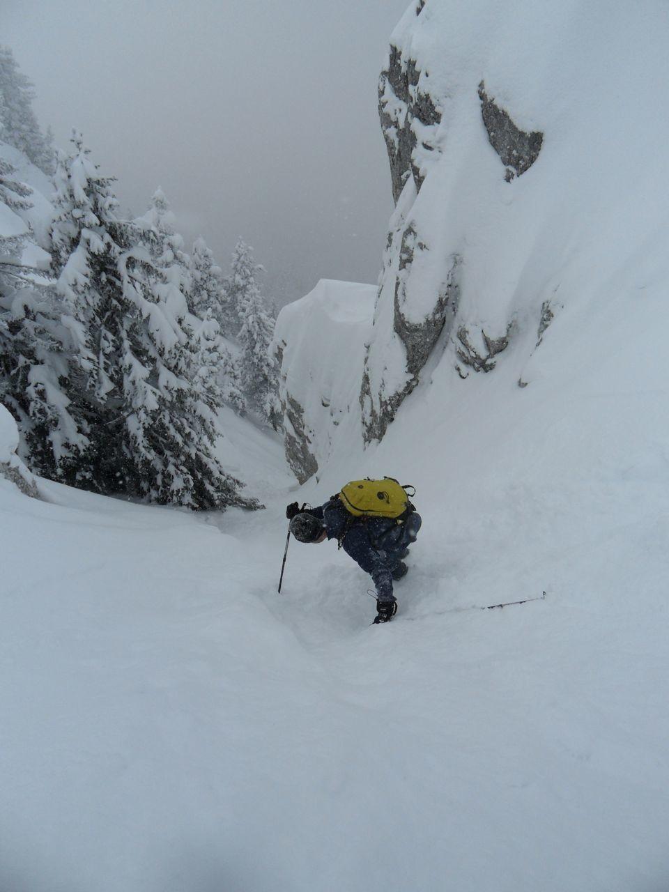 C'est ça le ski de montagne