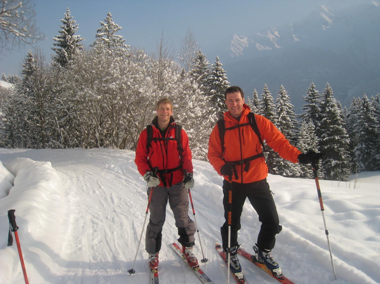 Sur le chemin d'alpage