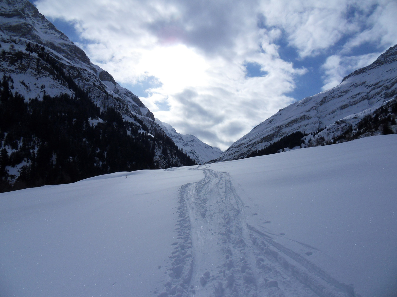 Alla partenza, verso la Val Curciusa