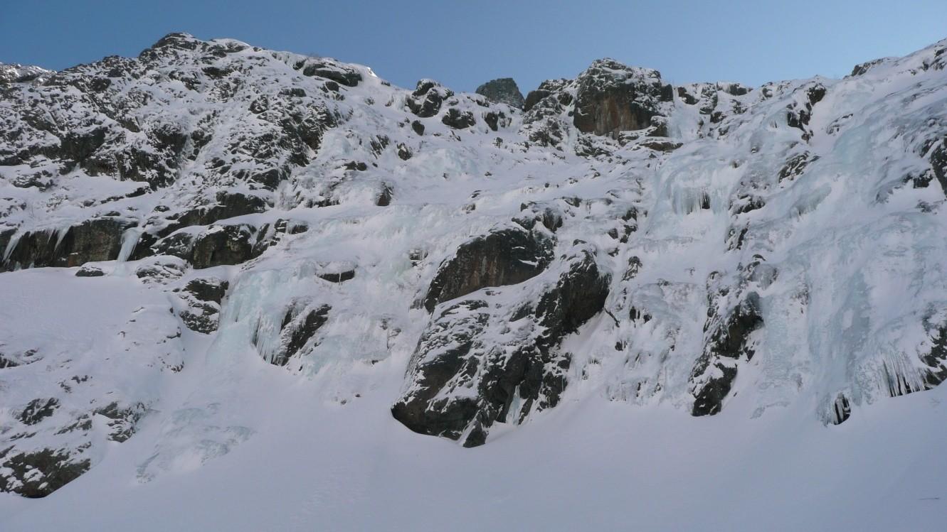 Une partie des Cascades du fond du vallon