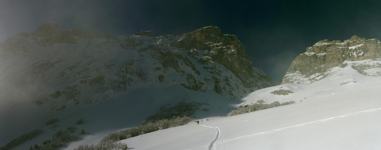 Panorama fond de vallé