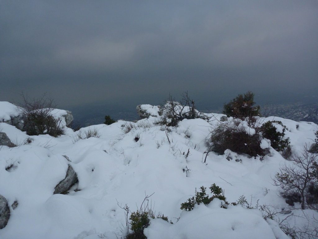 Le sommet et la cote d'azur (ou il fait toujours beau...)