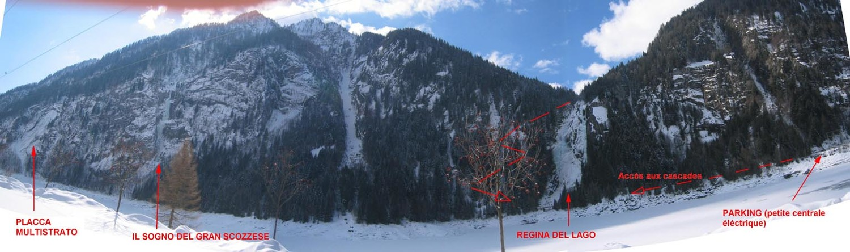 Val Daone - Panorama au niveau du Lac