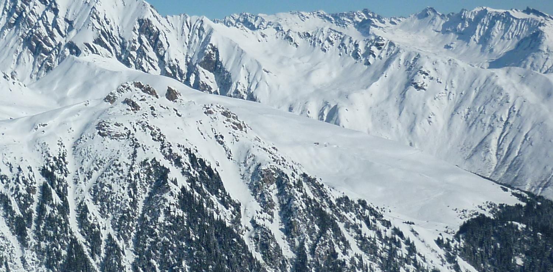 Rocheboc, faceW et Mont Rosset (au second plan)