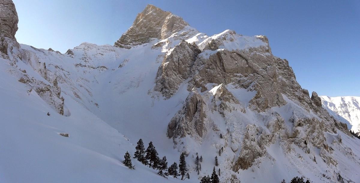 Roc de Garnesier - versant N