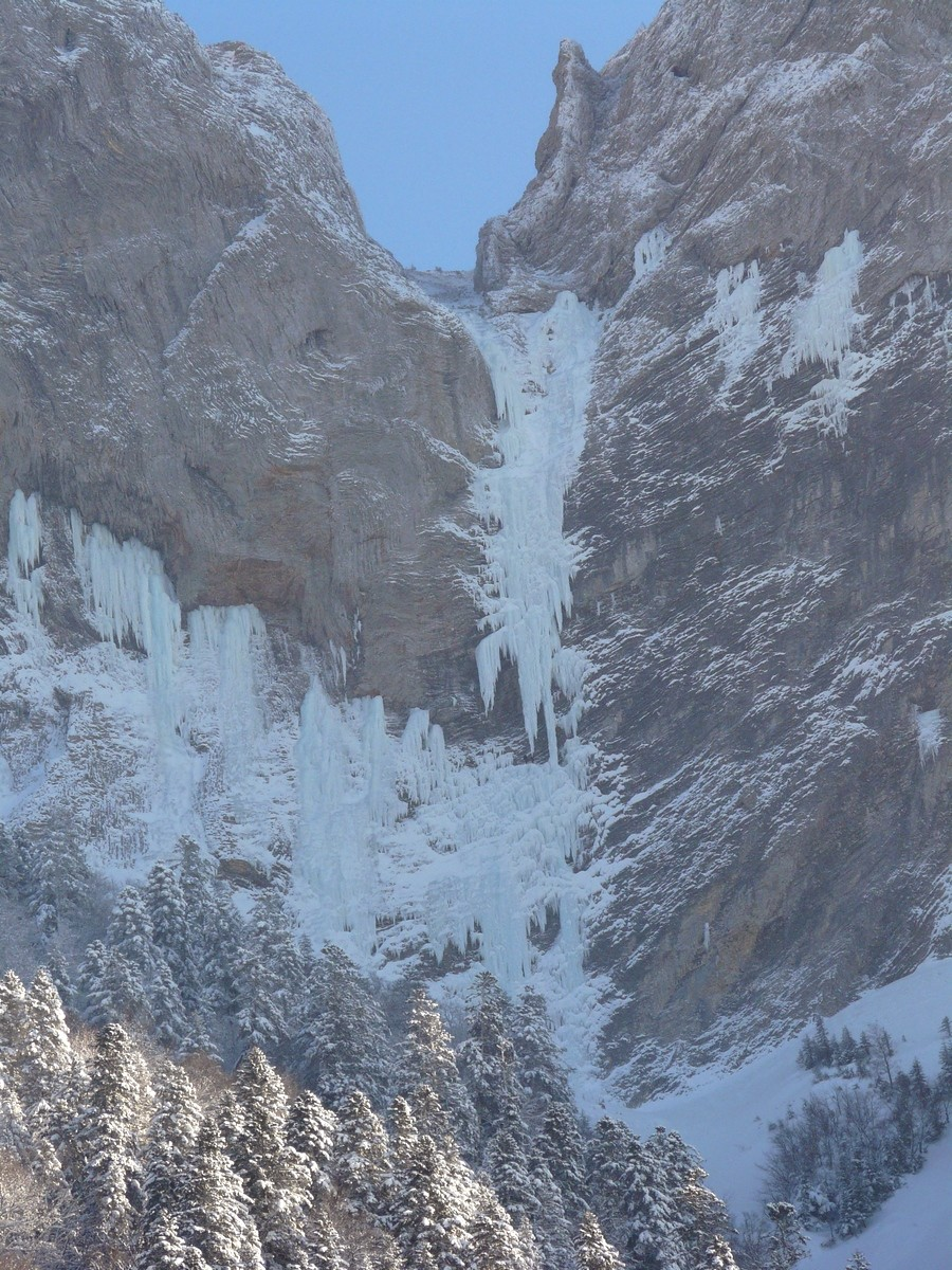 Grande cascade de Chamousset