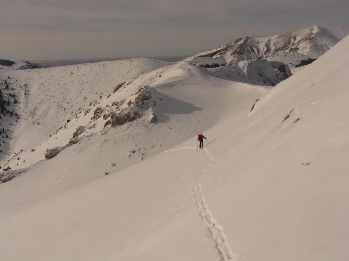 Au dessus du Col de Tournerond
