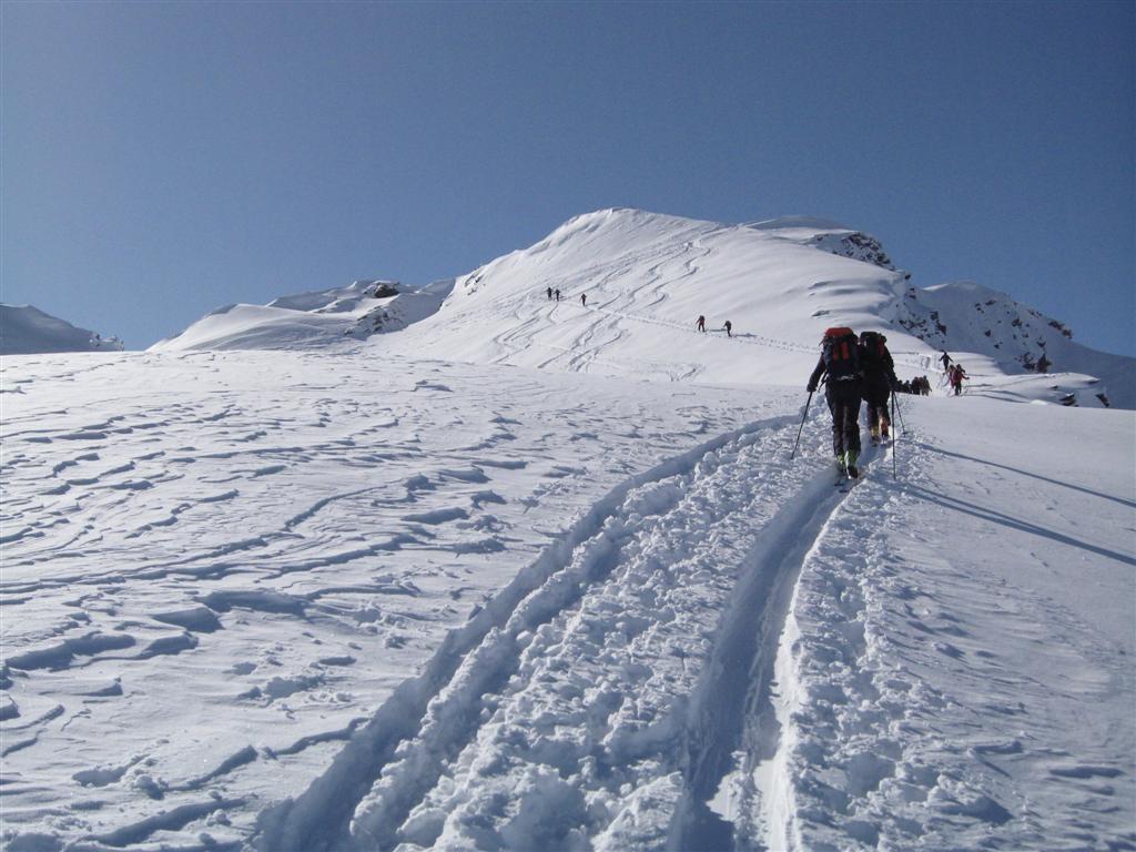 Embouteillage pour le sommet