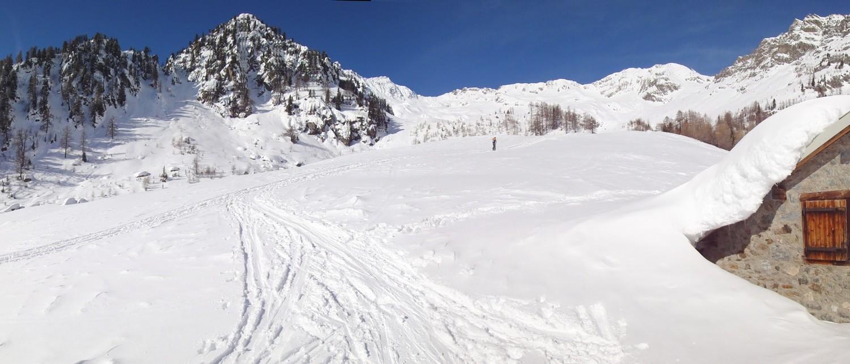 Panorama de l'alpage de Fenestral