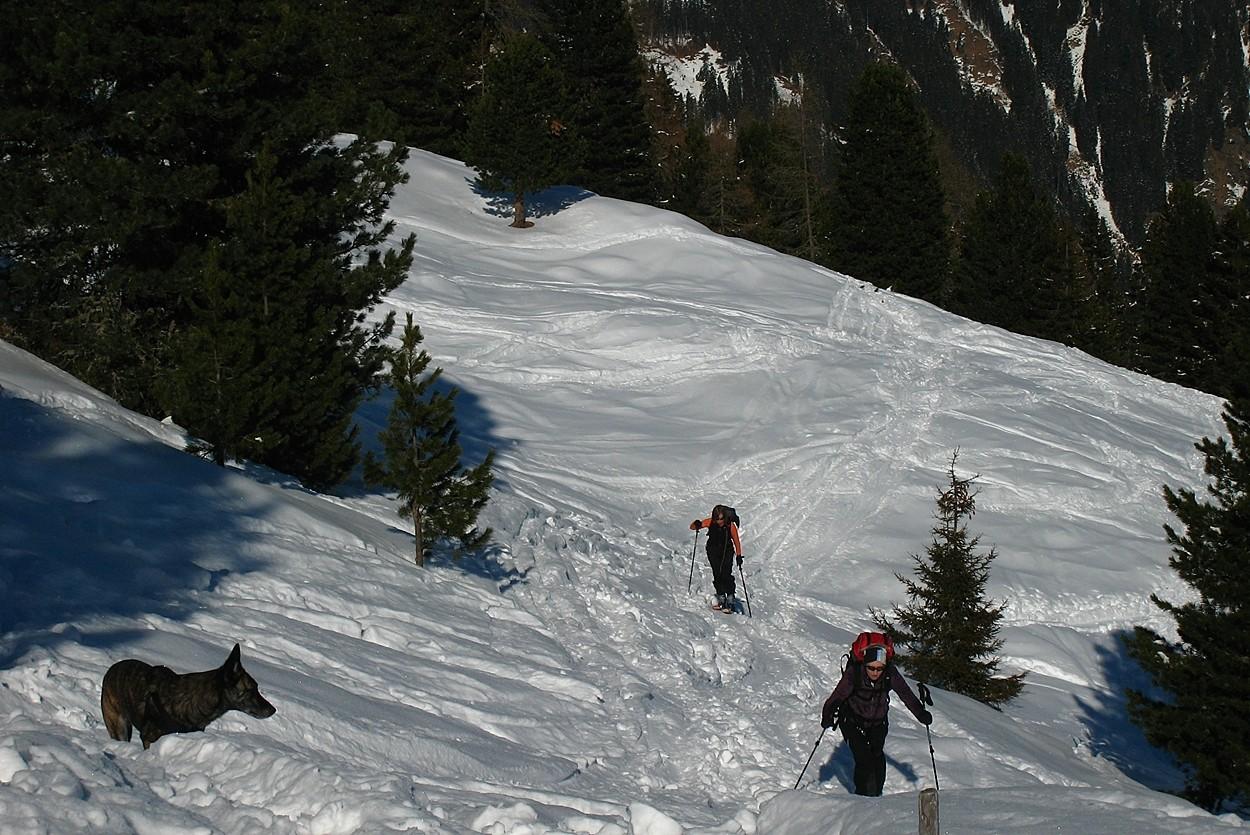 Anna et Daniela attaquent les alpages