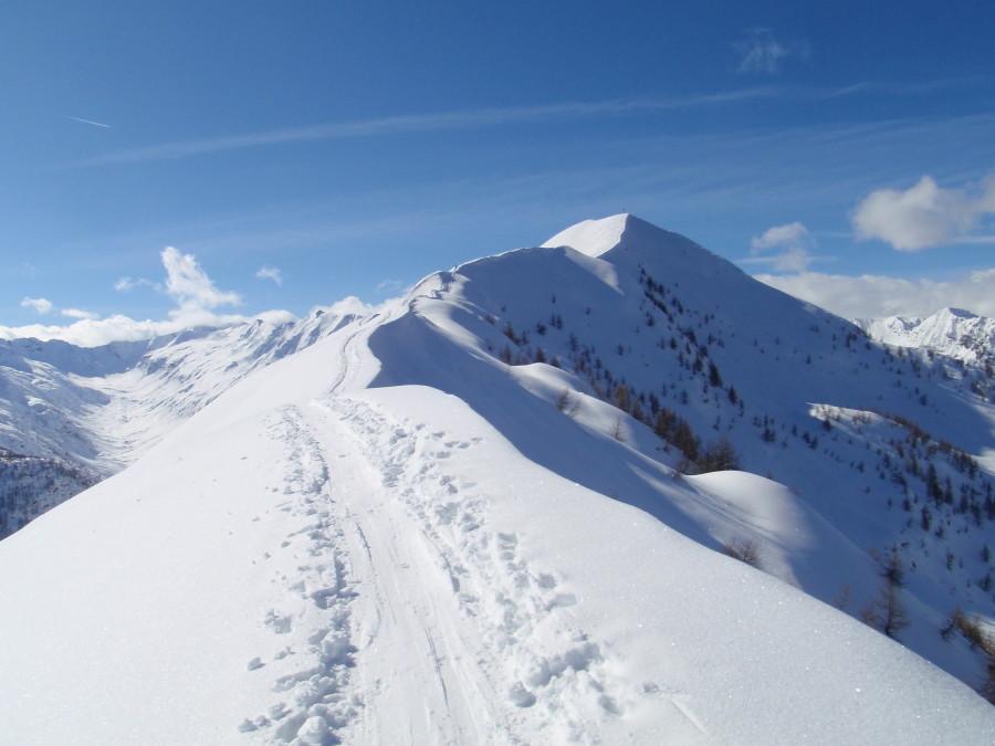 meriggio 25 febbraio 2010 la cresta finale