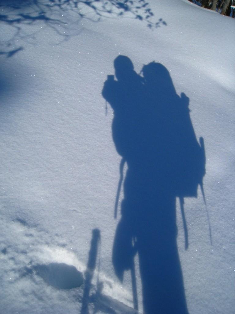 Jeux d'ombre... comment ça mon sac est plus grand que moi?
