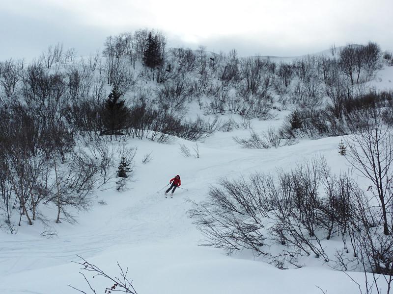 Bon ski à l'abri des arcosses