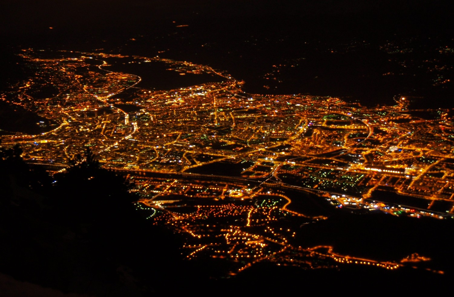 Grenoble by nigth