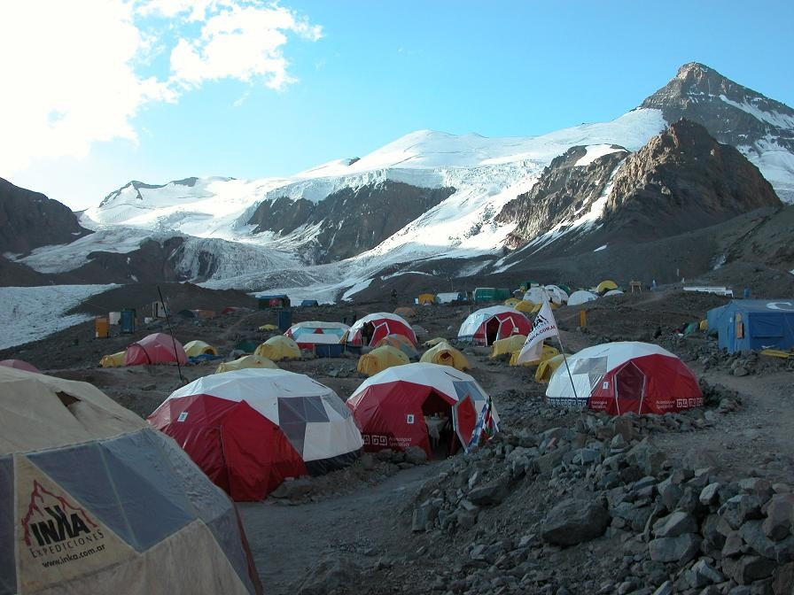 camp de base Plaza de Mulas