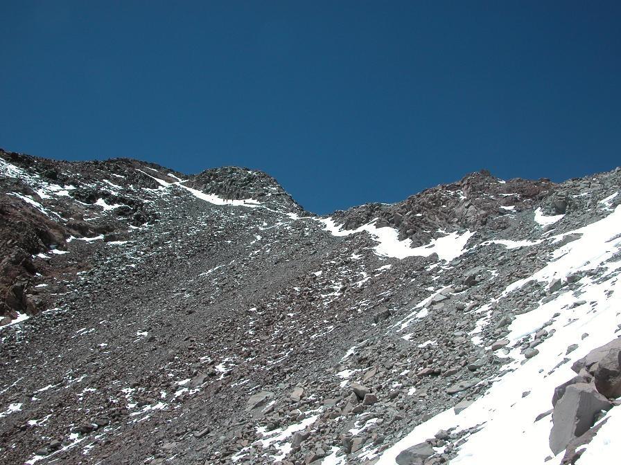 Finish épuisant vers la cime