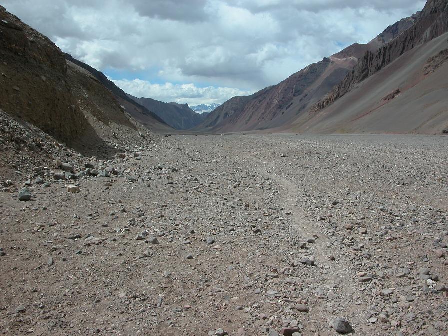 Immensité désertique de la Playa Ancha