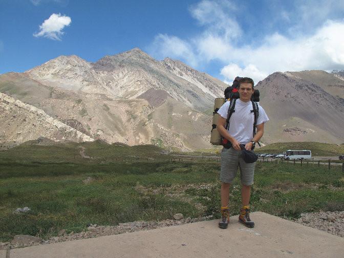 Départ de l'expé à Horcones (2950 m)