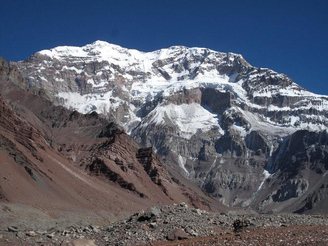 La mítica cara S del Aconcagua