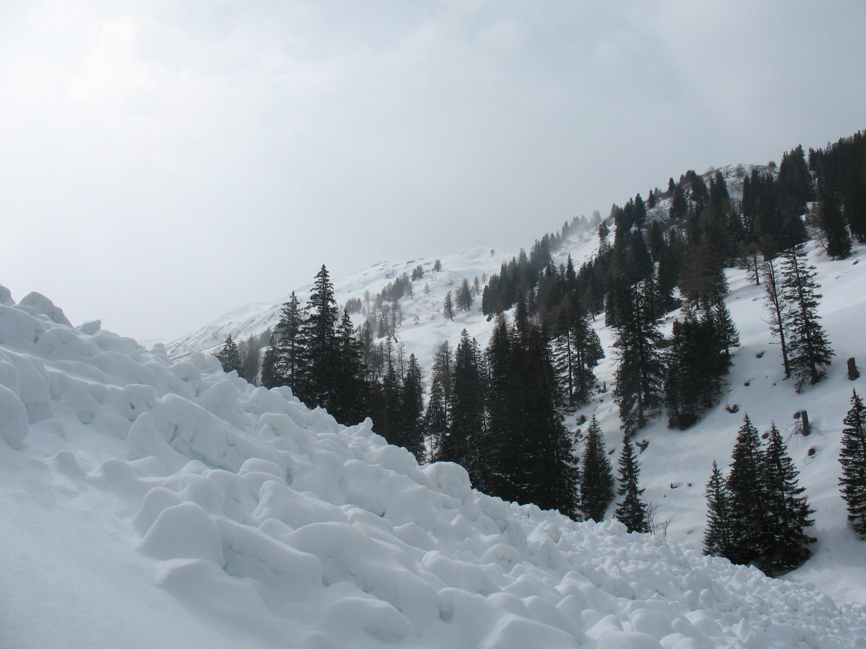 La Croix de javerne, sous les chalets de javerne