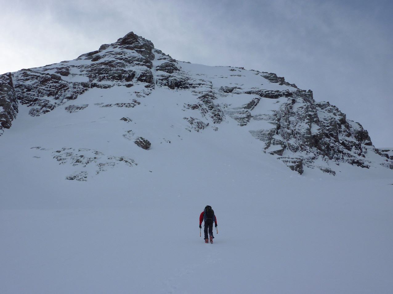 Pico Culivillas : face NNW
