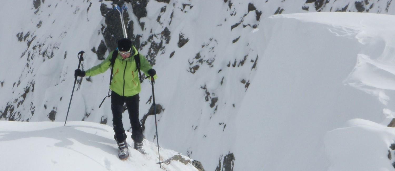 Derniers mètres avant la descente