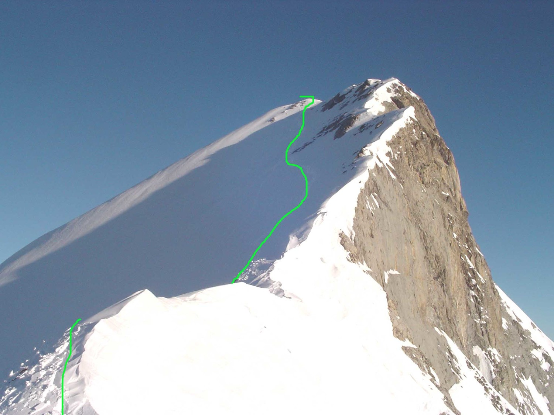 vue de la descente du Pic de Ger
