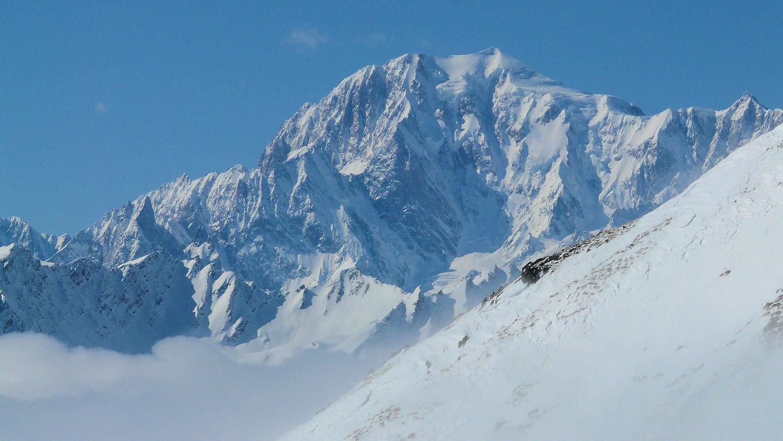 Le Mont Blanc depuis le col de Champillon