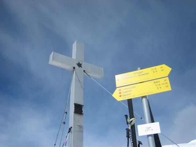 Staff - Gipfelkreuz